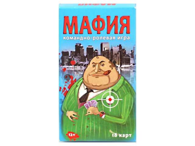 Настольная игра Мафия Гангстер Шоу-Бокс, в коробке, Рыжий кот