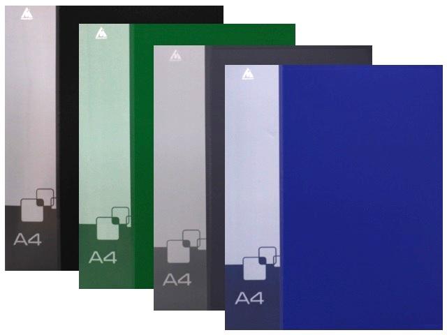 Папка на 2 кольца, А4, 18мм., цвета ассорти, Бюрократ