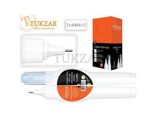 Корректор-ручка 7 мл на спиртовой основе, Tukzar TZ 8484-12