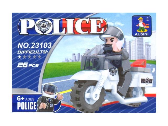 Конструктор  26дет Police Ausini в кор 23103/1