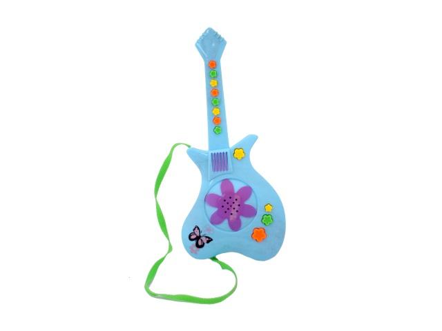 Гитара на батарейках, пластиковая, Fun Music, в коробке, Tongde