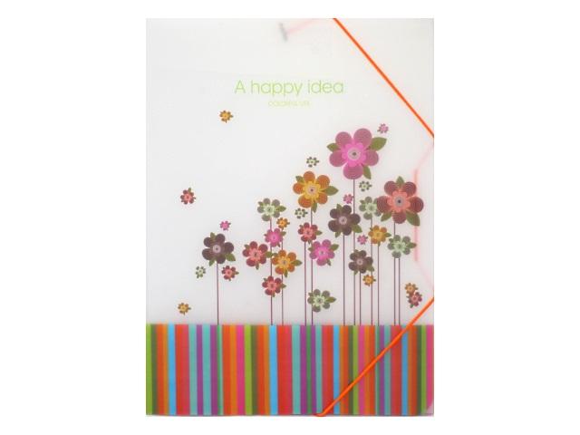 Папка на резинке, А4, Цветы, Josef Otten