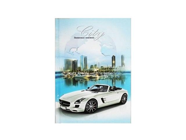Блокнот А6, твердая обложка, 48 листов, клетка, Машина-мечта2, Prof Press
