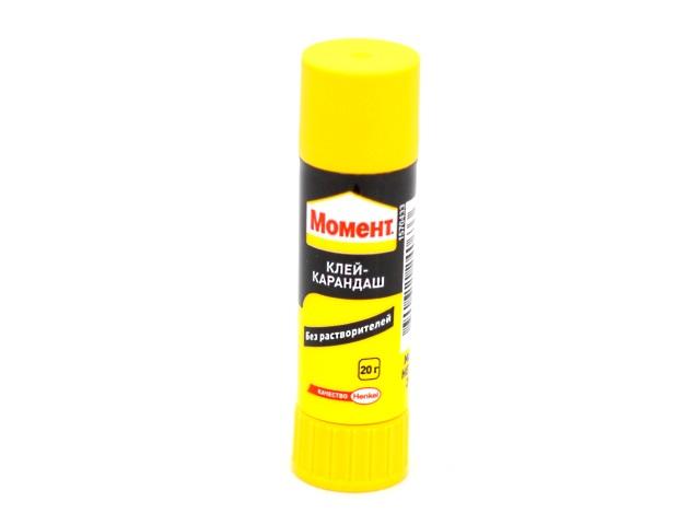 Клей-карандаш 20 г Момент, Henkel