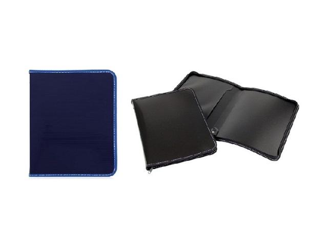 Папка на молнии, А4, с карманом, цвета а ассортименте, Attache