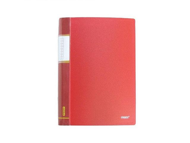 Папка с файлами 60ф., А4, красная, Proff Next