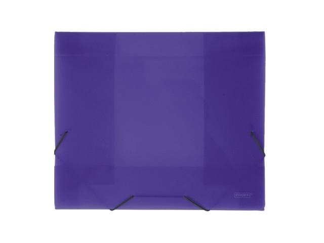 Папка на резинке А4 прозрачная фиолетовая 40 мм, Proff Next SB40TW-09