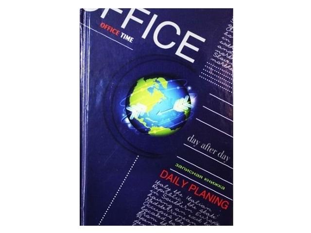 Блокнот А6, твердая обложка, 48 листов, клетка, Весь мир, Prof Press