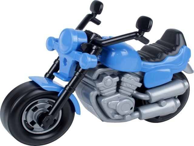 Мотоцикл инерционный, пластиковый, Байк, в пакете, Полесье