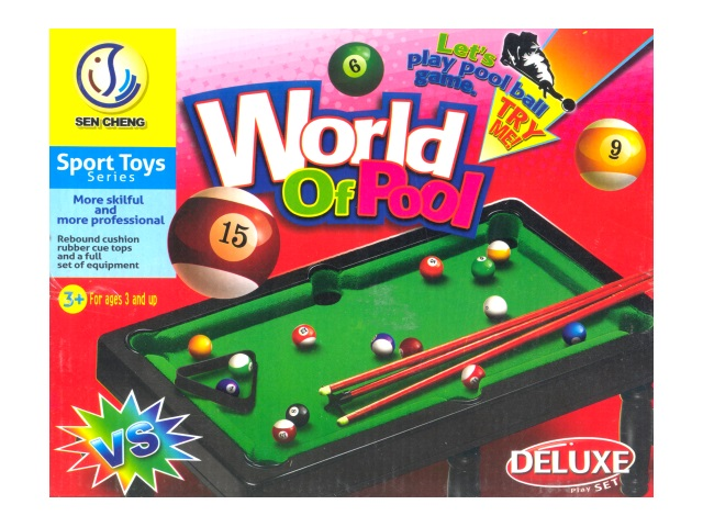 Настольная игра Бильярд, World of Pool, в коробке
