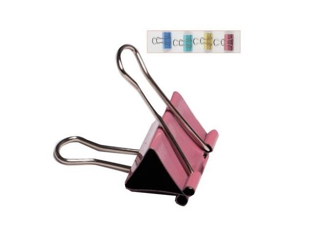 Биндер 41 мм, металлический, цвета в ассортименте, DeVente