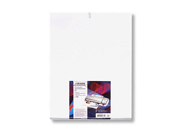 Пленка для ламинирования А3, 80 мкм, 300*425 мм, 100 шт., DeVente