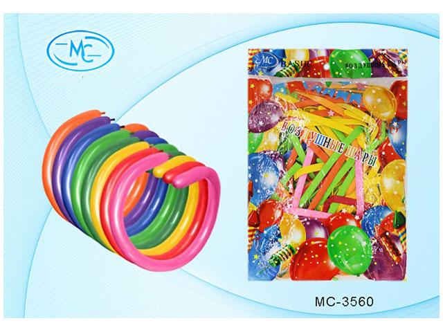 Шары  для моделирования, 100шт. в упаковке, цветные, Basir
