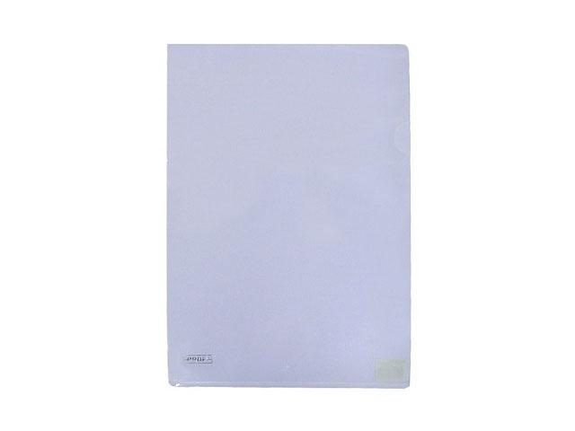 Уголок А4, 200 мкм, прозрачный белый, Alpha Proff