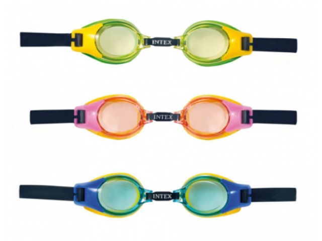 Очки для плавания, для детей от 3 до 8 лет, блистер, Intex