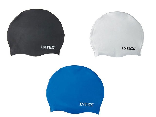 Шапка для плавания, 58 размер, блистер, Intex