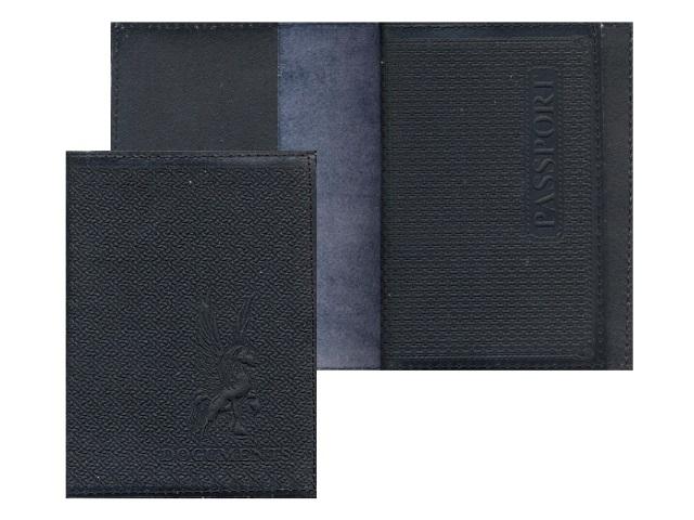 Обложка для паспорта и документов, кожаная, Имидж