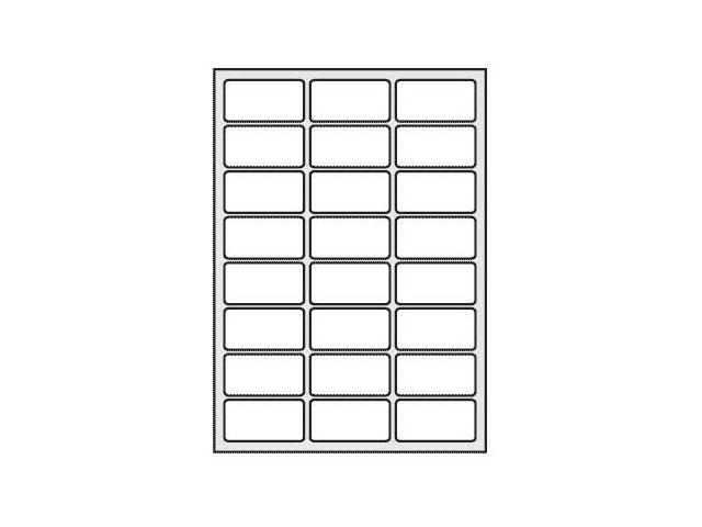 Этикетки самоклеящиеся, 64.6*33.8мм., А4, 100л., 24шт на листе, Of-Set