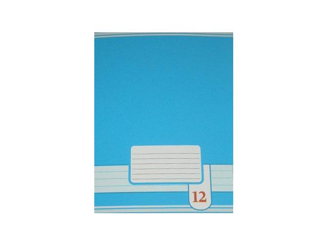 Тетрадь в линию 12 листов Цветные фоны, Академия Групп EAC-7114/5