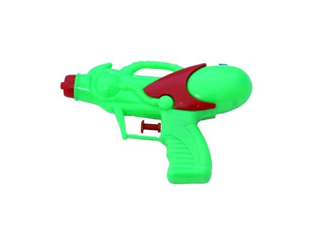 Пистолет водяной, Бластер, пластиковый, 16см., в пакете, Qinzhengyuan