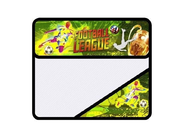 Папка для тетрадей на липучке, А5, пластиковая, 2 отделения, Футбольная лига, Пчелка