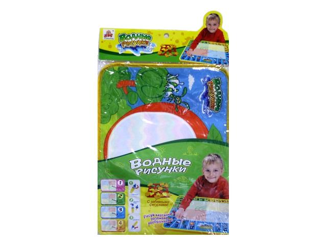 Развивающая игрушка, Коврик для рисования, Водные рисунки, в пакете