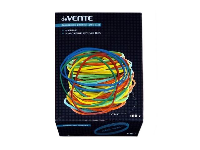 Резинки для денег 100 г, цветные в коробке, DeVente 4152305