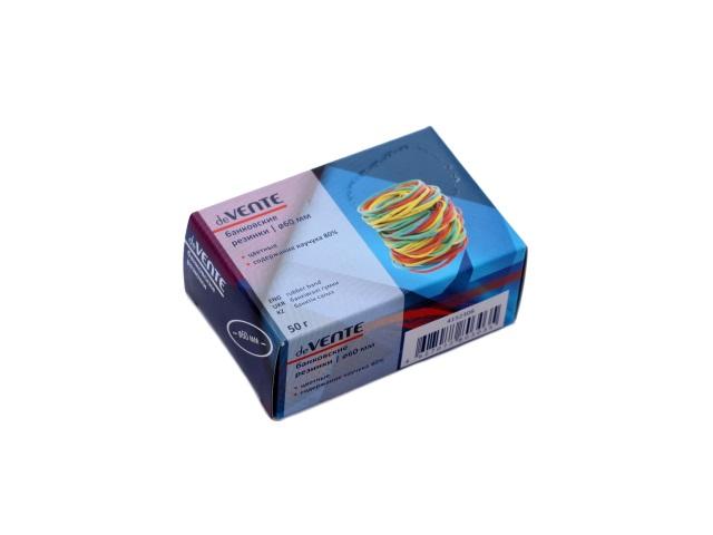 Резинки для денег 50 г, цветные в коробке, DeVente 4152308