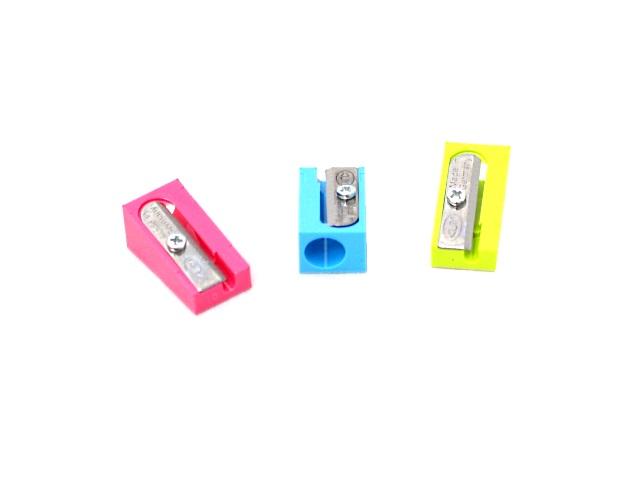 Точилка пластиковая клин, цвета в ассортименте, KUM 100-K Pop