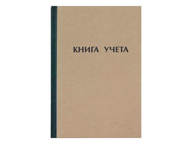Книга учета А4 96 листов твердая обложка газетка, Ульяновский Дом Печати КУ-111