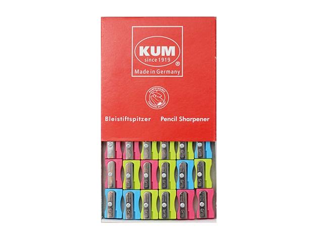 Точилка пластиковая, цвета в ассортименте, KUM 100-1 Pop