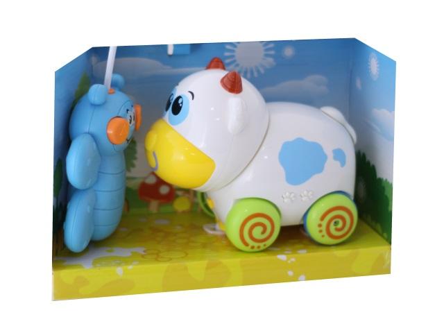 Развивающая игрушка, Корова, на радио управлении, в коробке, Play Smart