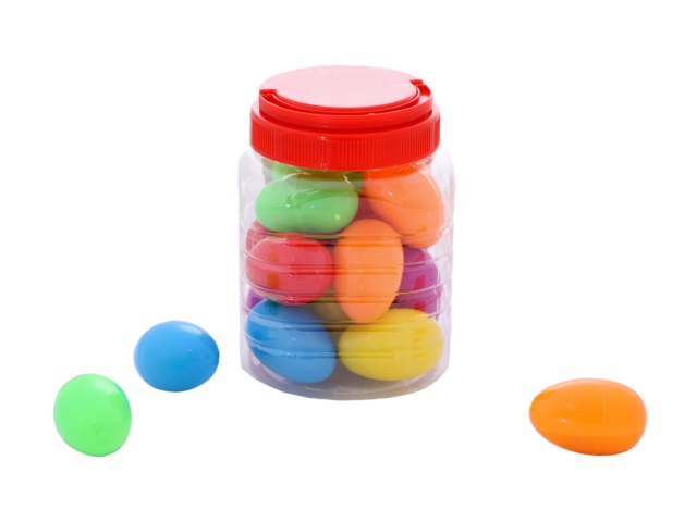 Пластилин Жвачка для рук, в яйце, цвета ассорти, в банке
