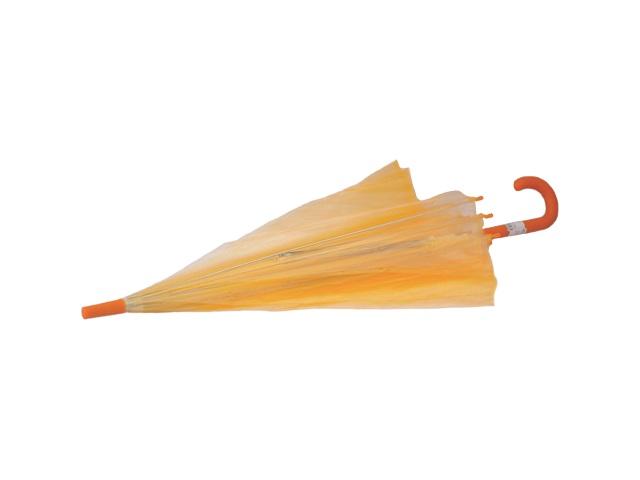 Зонт цветной 70 см, прозрачный, силиконовый, в пакете