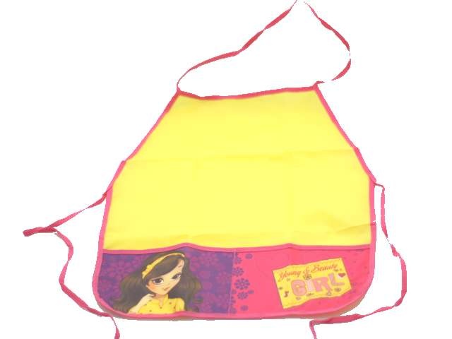 Фартук для труда с карманом Юная леди, Пчелка ФДТ-5