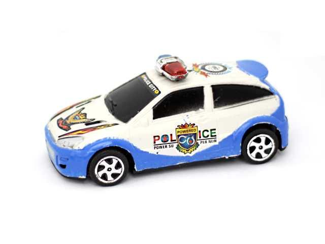 Машина инерционная пластиковая Police, в пакете, арт. 337-C