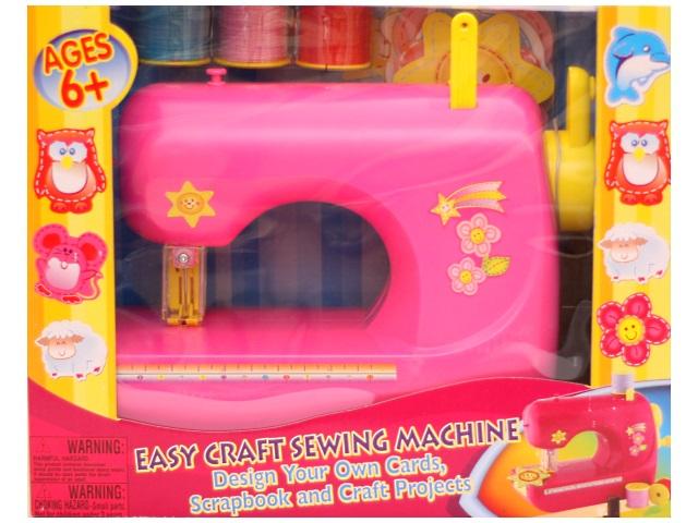 Швейная машина, на батарейках, пластиковая, в коробке, Qinzhengyuan