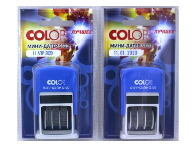 Датер мини Colop 3.8мм 4810 S120/1