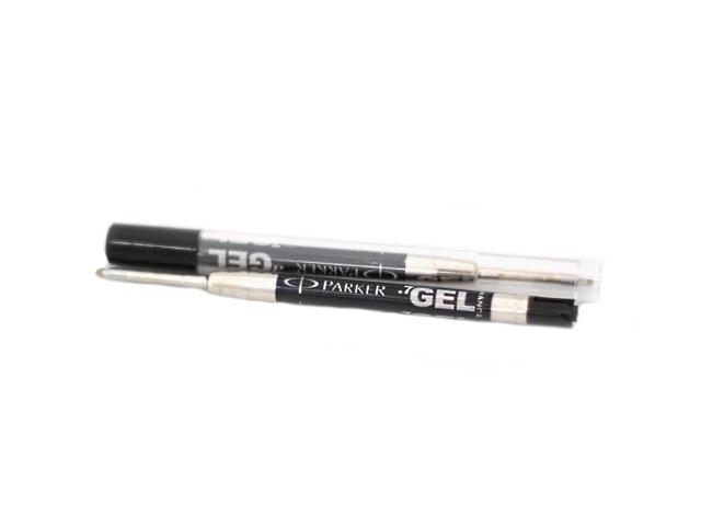 Стержень гелевый автоматический металлический 98 мм, черный 0.7 мм, Parker S0169120