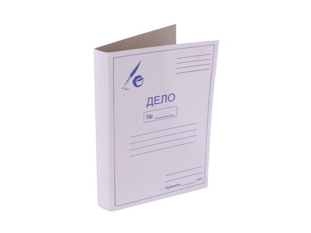 Дело обложка А4, 360гр., картонная, Workmate