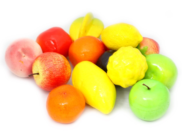 Продукты 14предм пенопласт Super Fruit Qinzhengyuan в пак/1