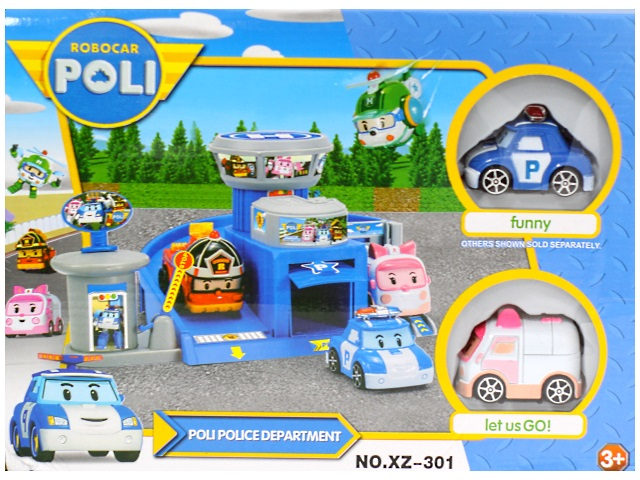 Парковка для машин, Poli, в коробке