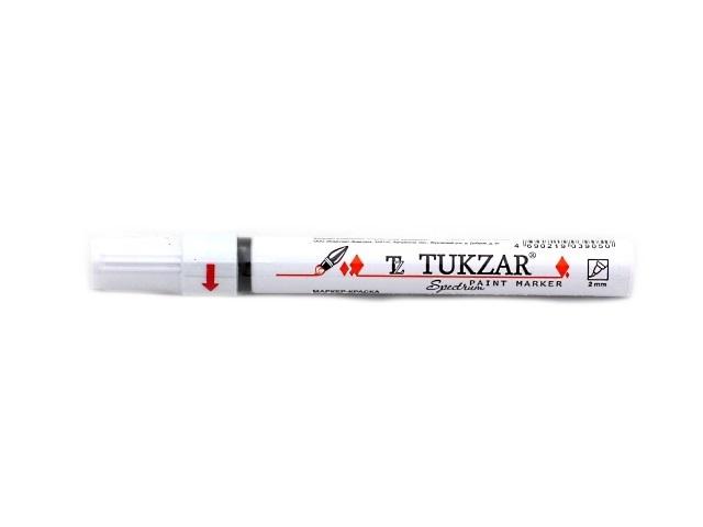 Маркер краска, черный круглый 2 мм, Tukzar TZ 5571