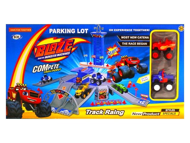 Парковка для машин, Вспыш, Track Raing, в коробке