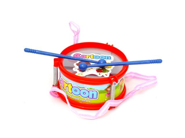 Барабан пластиковый, маленький, в пакете, Tongde