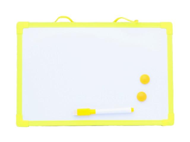Доска магнитно-маркерная, детская, 20*30см., с аксессуарами, в пакете, Mazari
