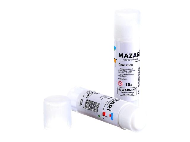 Клей-карандаш 15 г, Mazari М-5671