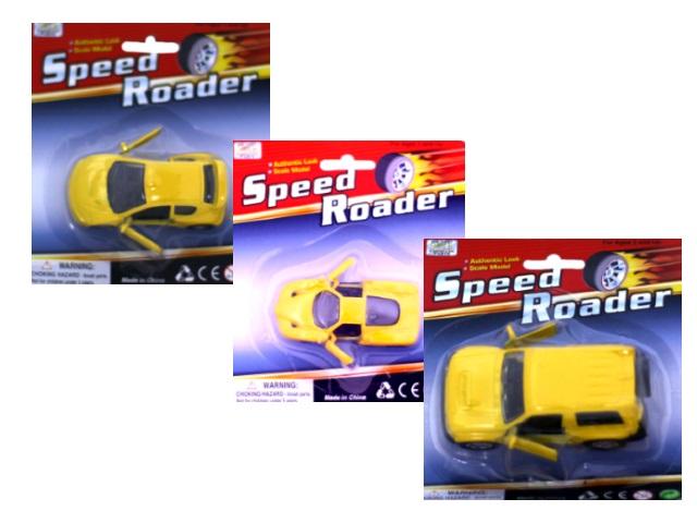 Машина инерционная, металлическая, Speed Roader, блистер, Qinzhengyuan