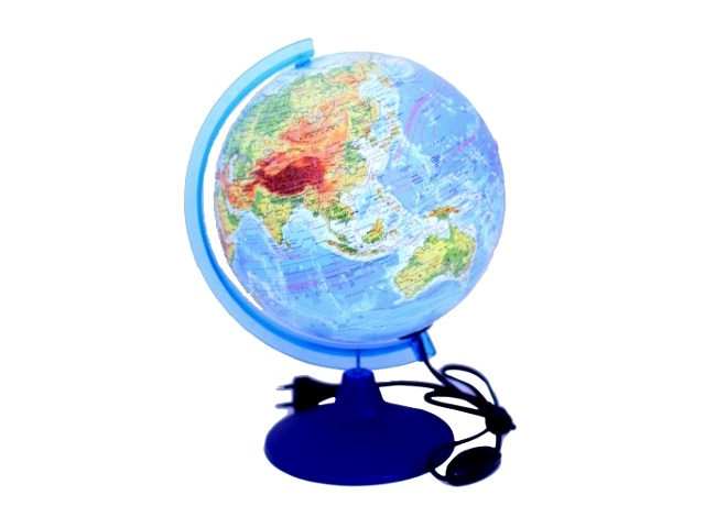 Глобус физико-политический R 250 с подсветкой Классик Евро, Globen Ке022500191