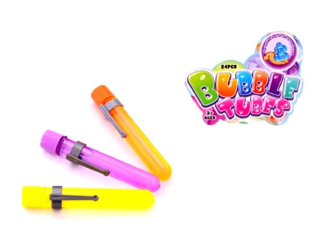 Пузыри мыльные, гелевые, большие, Bubbles Tubes, в коробке